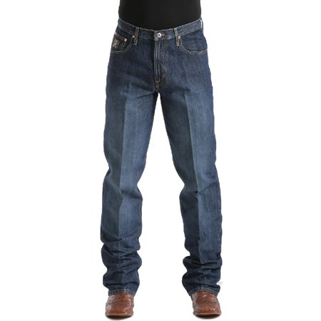 Cinch Jeans Mens Black Label Relaxed Dark Wash MB90633002