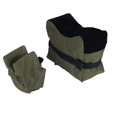 - Shooting Bag Combo Front and Rear SandBag Stand Holders-Unfilled Army Green