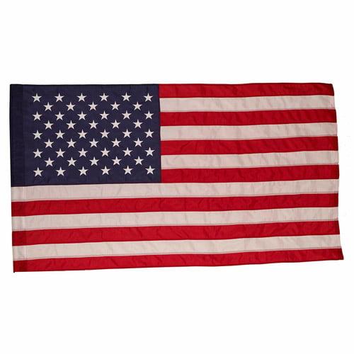 Valley Forge Flag 2-1/2' x 4' Nylon US Flag