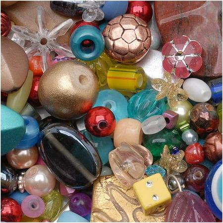 Mr. Kitty's Big Bead Bonanza™ Bead Mix - 1/2 Pound (Big Beads)