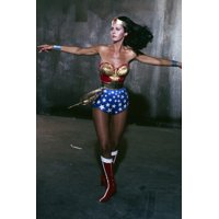 Lynda Carter in Wonder Woman twirling in costume 24x36 Poster