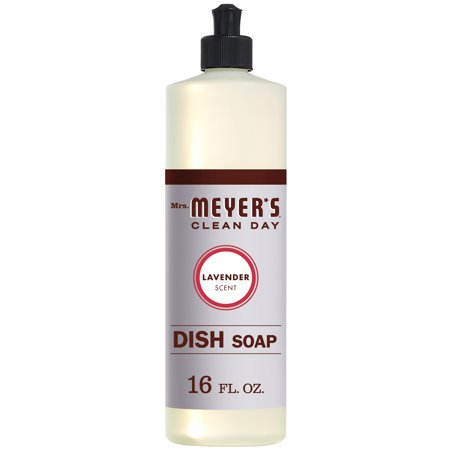 (3 Pack) Mrs. Meyer's Clean Day Dish Soap, Lavender, 16 fl