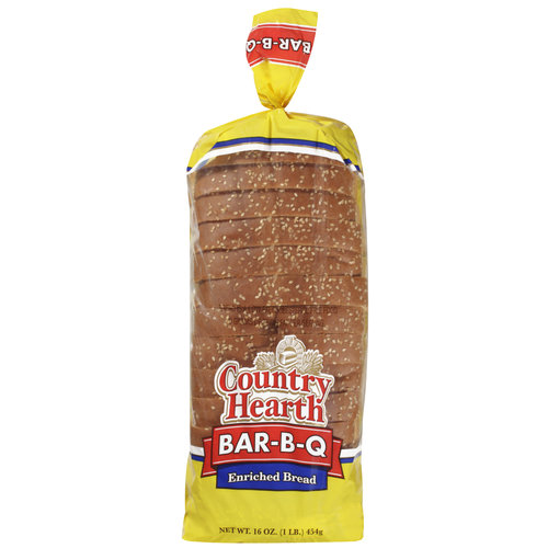 Country Hearth Bbq Sliced Dinner Roll
