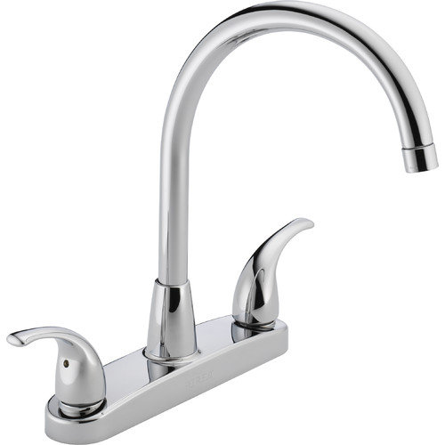Peerless P299568LF Widespread Kitchen Faucet, Chrome