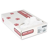 Jaguar Plastics Industrial Strength White Commercial Can Liners, 30 Gallon, 100 Count