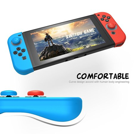 Nintendo Switch Case 13 in 1 Starter Kit Carring Bag with 24 Game Cartridges Protective Hard Shell Tempered Glass Game Earphone for Nintendo;Hard Shell Switch Console & Accessories - image 3 of 7
