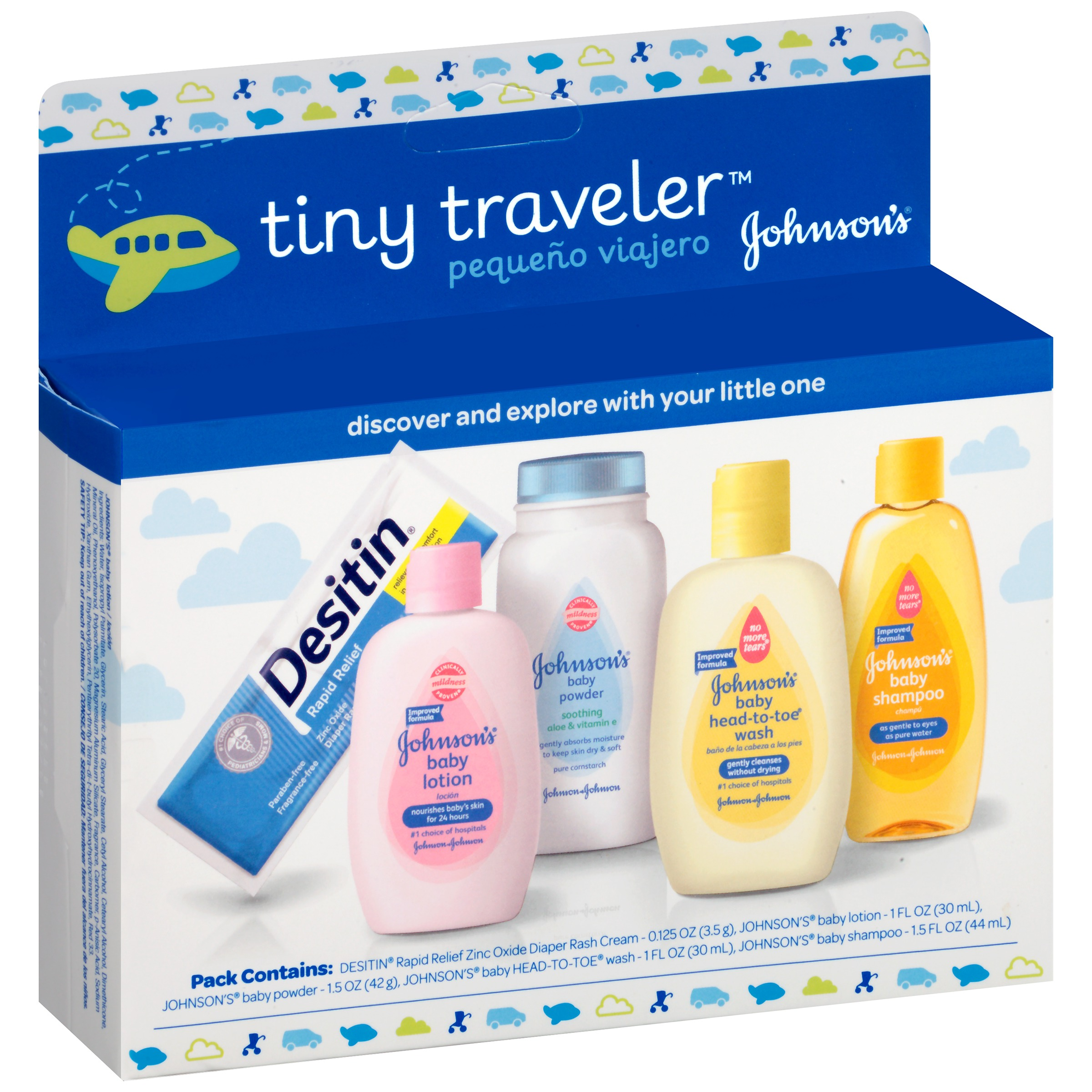 Johnson\'s Tiny Traveler, Baby Bath And Baby Skin Care Products ...