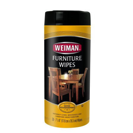 Weiman Furniture Wipes Case Of 4 30