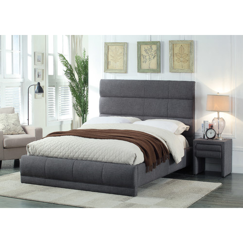 Meridian Furniture USA Cooper Upholstered Platform Bed