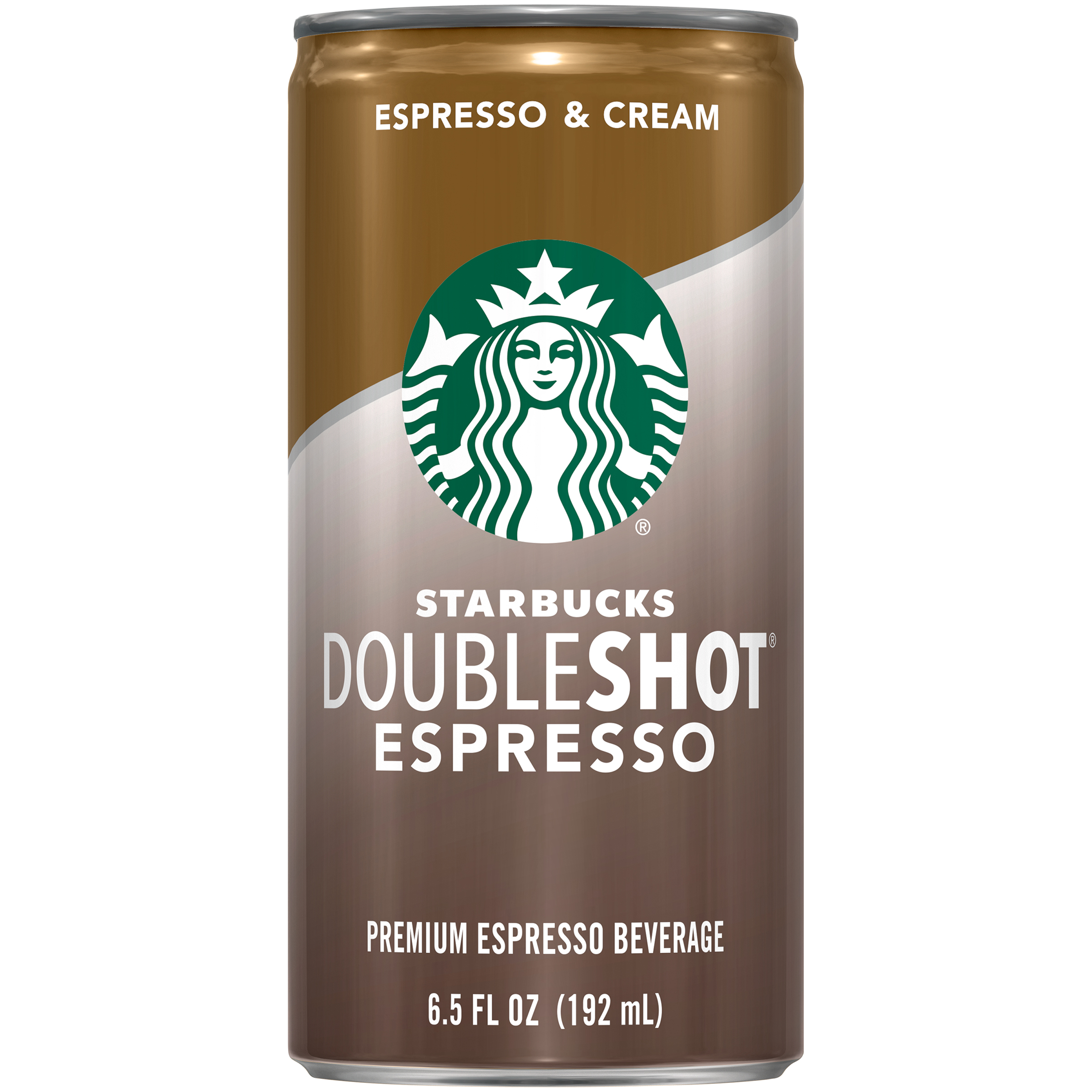Starbucks Doubleshot® Espresso & Cream Coffee Drink 6.5 fl. oz. Can