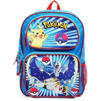 Pokemon Character Group Blue 16 Inch Backpack