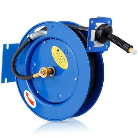 Auto Rewind Retractable Air Compressor Hose Reel 300 PSI Garage Tool - image 9 of 9