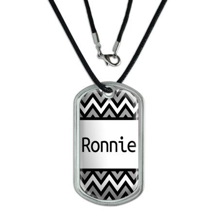 Male Names - Ronnie - Dog Tag