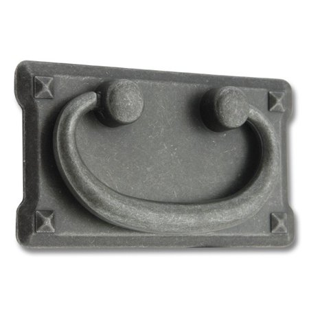- Black Iron, Mission Bail Pull with Backplate, 3