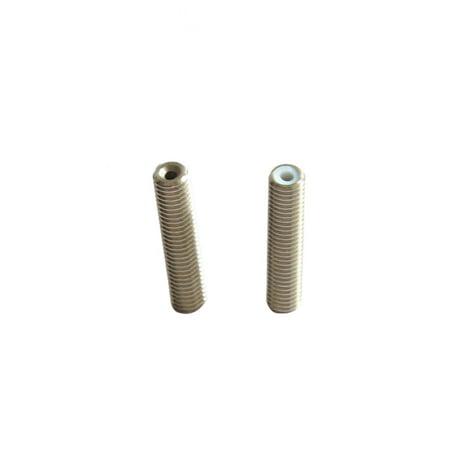 2pcs MK8 M6 * 40mm Stainless Steel Nozzle Extruder Throat Teflon Tubes Pipes for 1.75mm Filament 3D Printer Parts - image 6 de 6