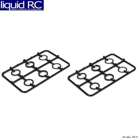 Vaterra 213013 Shock Adjustment Clip Set: 1/14 KEM KAL MDT MR