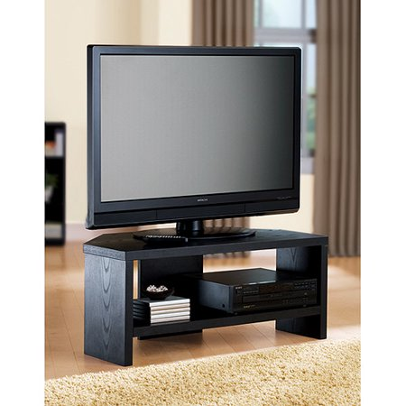 Black Corner Tv Stand For Tvs Up To 42