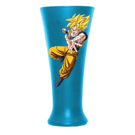 Dragonball Z - Goku Super Saiyan God Fluted Glass by, Music, Sports & Entertainment Merchandise By Old Glory From (Dragon Glasses For Sale)