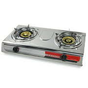 Best Portable Gas Stoves - XtremepowerUS Portable Propane Gas Stove Double Burner T Review