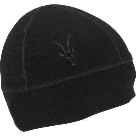 9d35be54ddf Ibex Meru Merino Wool Hat  Black - Walmart.com