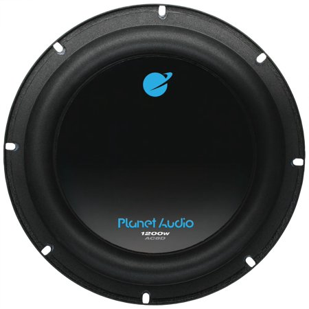 Planet Audio Anarchy8 inch DUAL Voice Coil (4 Ohm) 1200-watt Subwoofer (Shallow Mount Subwoofer 8 Inch)