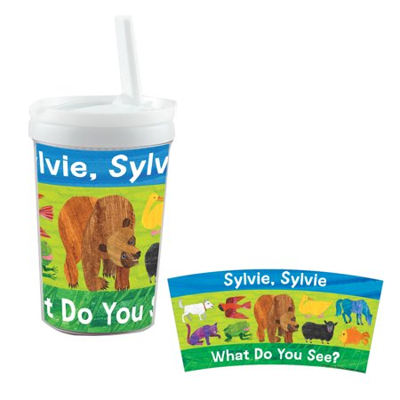 Brown Bear What Do You See Personalized Kids Sippy Cup