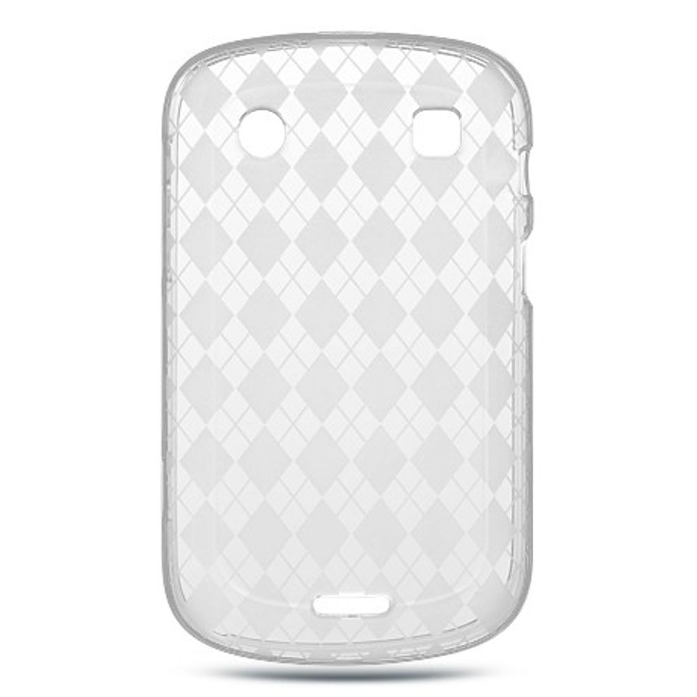 Insten Rubber Cover Case For BlackBerry Bold Touch 9900/9930 - Clear - image 2 of 2