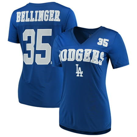 the best attitude fb106 c7a5a Women's New Era Cody Bellinger Royal Los Angeles Dodgers Name & Number  T-Shirt