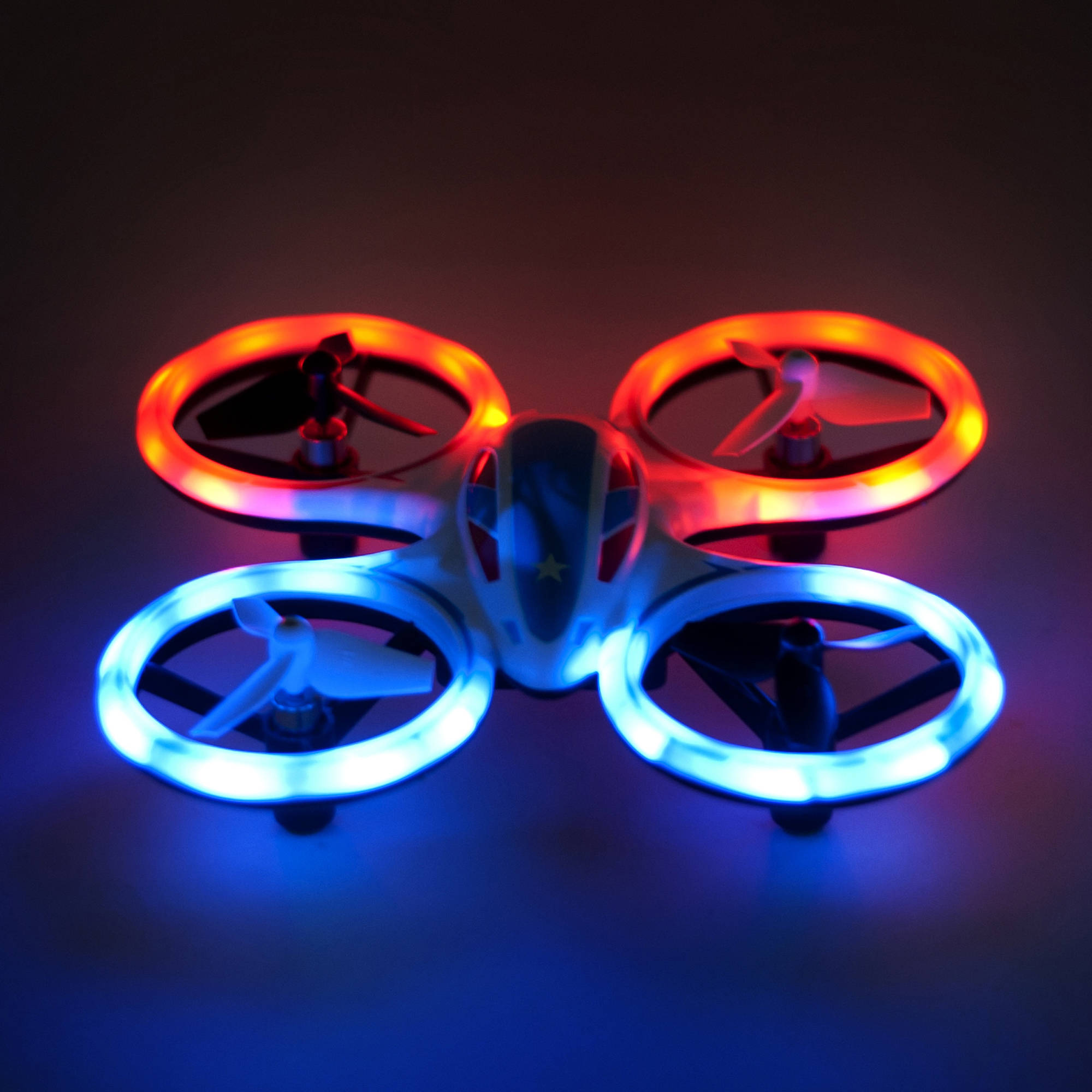 RC Stunt Drone Wonder Chopper Sky Patroller Quadcopter - Training Kids Friendly