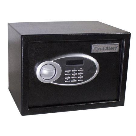First Alert 4005DFB 0.57 Cubic Ft Black Anti-Theft Safe With Digital Lock