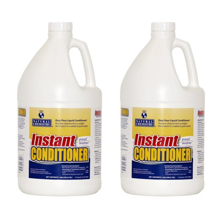 2 natural chemistry 07401 spa swimming pool conditioner stabilizer 1 gal each for What is swimming pool conditioner