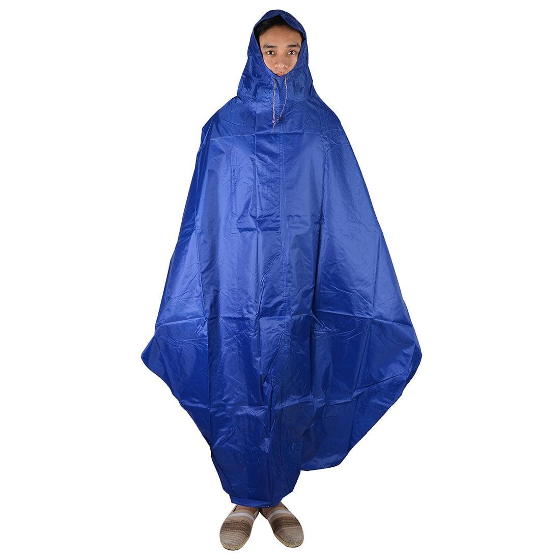 Unisex Cycling Bike Bicycle Outdoor Rain Water Resistant Hooded Raincoat