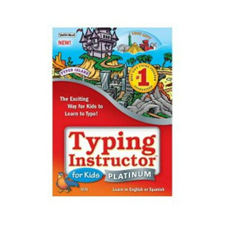 Typing Instructor for Kids Platinum for Windows (5 User Family License) [Download] (Fun Kids Software)