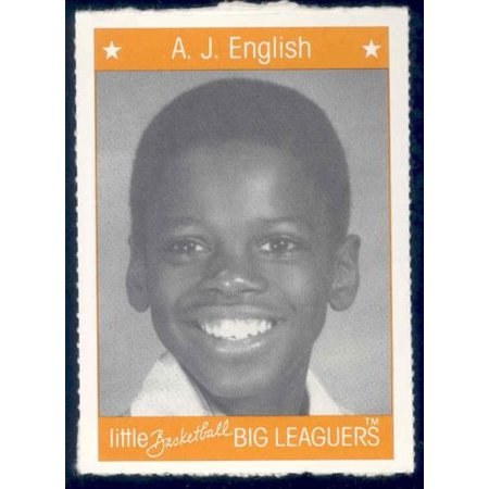 1991 Little Basketball Big Leaguers #12 A.J. English Bullets