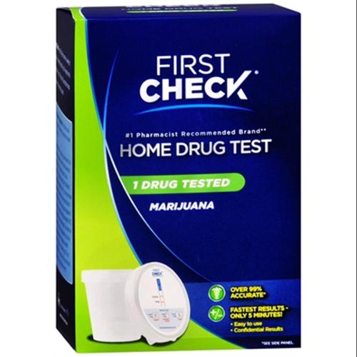 First Check Home Drug Cup Test Marijuana 1 Each (Pack of 2)