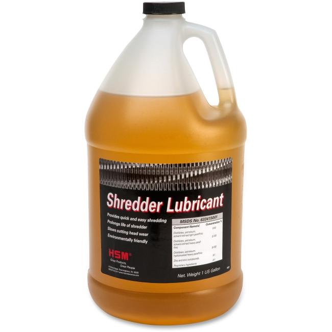 HSM of America Gallon Shredder Oil
