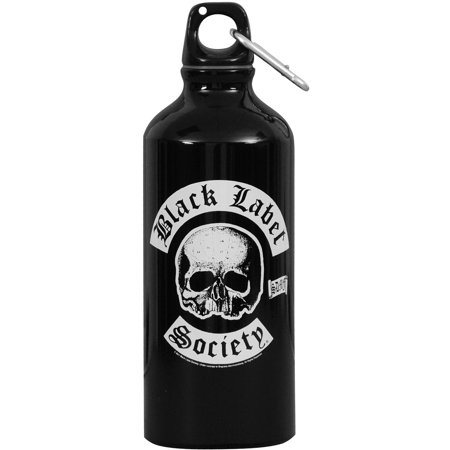 Black Label Society Water Bottle - Custom Label Bottled Water