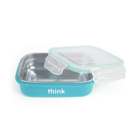 BPA Free The Bento Box, Light Blue, The Bento features easy to clasp sides which form an air-tight seal. So its perfect for any type of food or.., By Thinkbaby