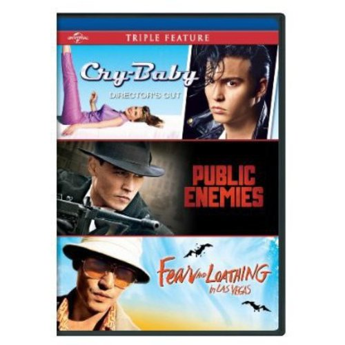 Cry-Baby / Public Enemies / Fear And Loathing In Las Vegas (Anamorphic Widescreen)