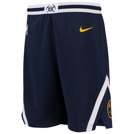 Denver Nuggets Nike Youth Swingman Icon Performance Shorts - Navy