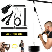 Lat Pulley System Arm Muscle Strength Training Exerciser Fitness Equipment