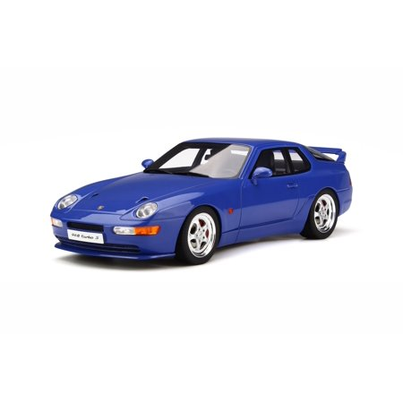 (Porsche 968 Turbo S Martime Blue Limited Edition to 999 pieces Worldwide 1/18 Model Car by GT Spirit)