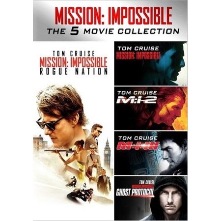 Mission: Impossible 5-Movie Collection DVD (Best Mission Impossible Episodes)