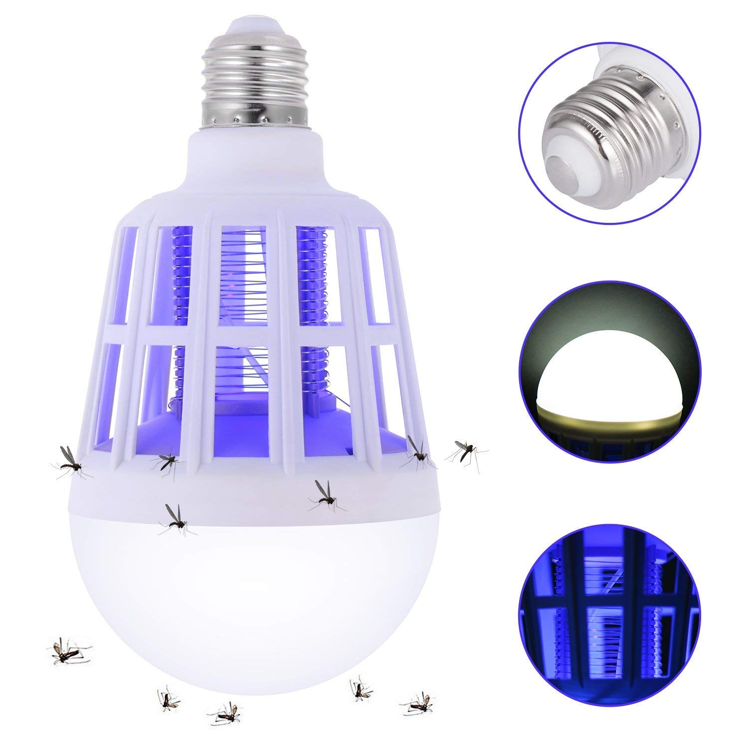 PIC  2-In-1  Indoor and Outdoor  Insect Zapper