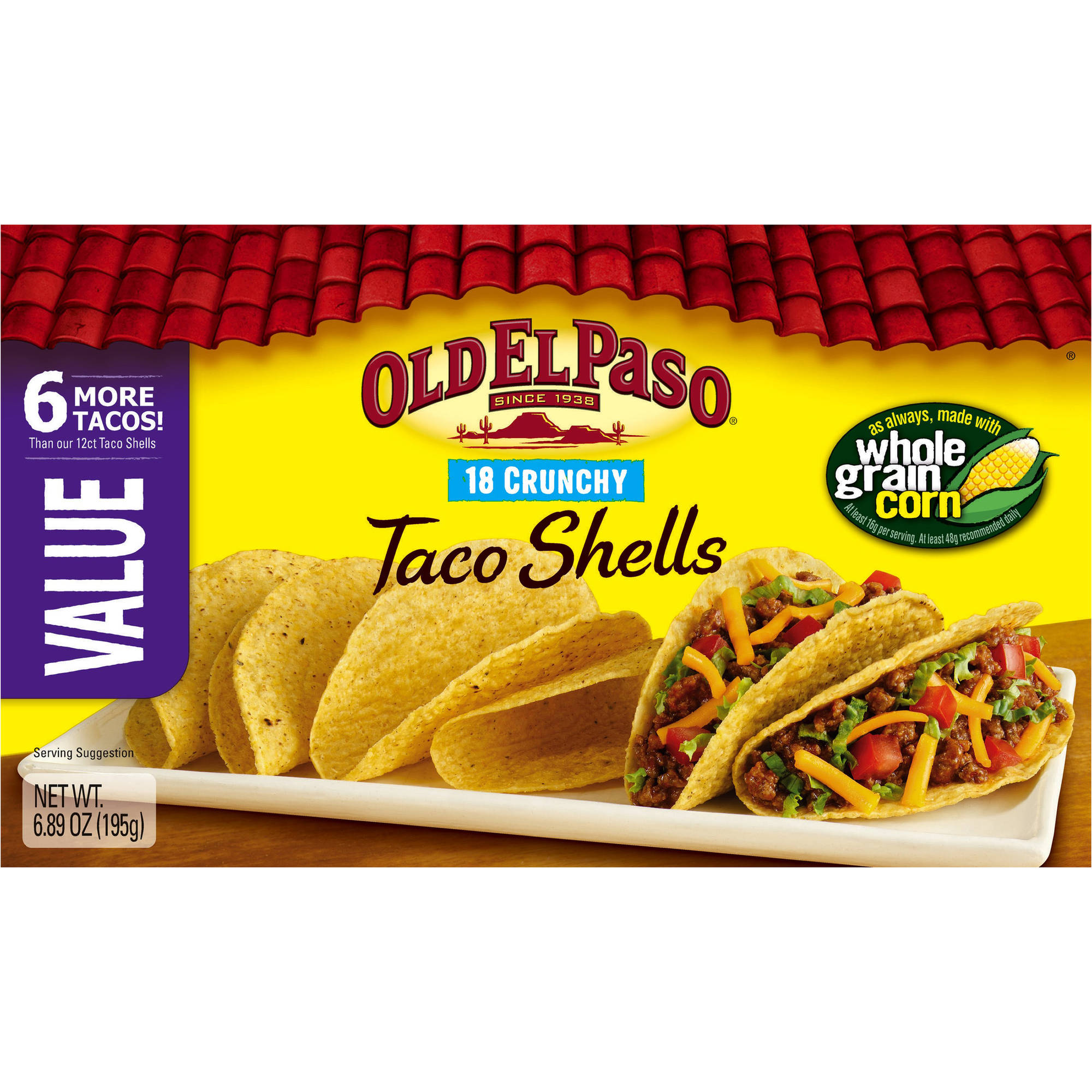 Old El Paso? Crunchy Taco Shells 18 ct. Box