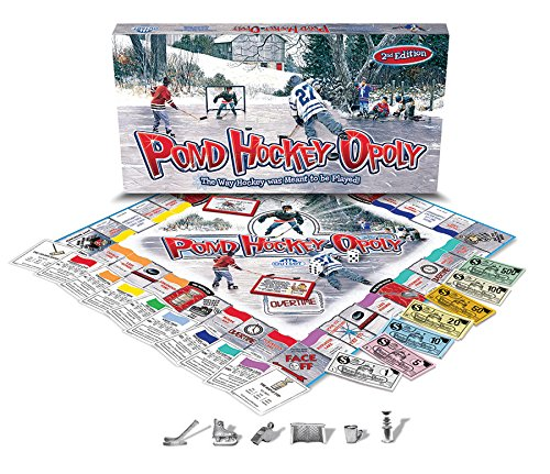 COBBLE HILL Pond Hockeyopoly 2nd Edition Game (1 Piece) by STAUM