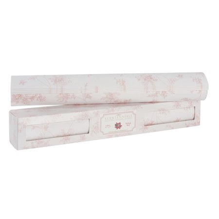 Scentennials HERITAGE ROSE (12 SHEETS) Scented Fragrant Shelf & Drawer Liners 16.5
