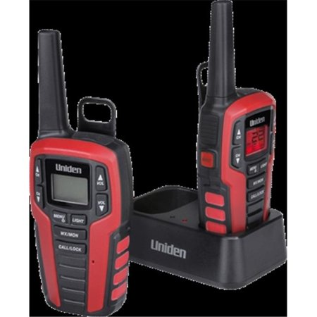 Uniden SX327-2CK Two-Way Radio with Charger, Red - image 1 de 1