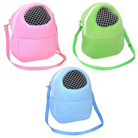 Portable African Hedgehog Hamster Breathable Pet Dog Carrier Bags Handbags Puppy Cat Travel Backpack ()
