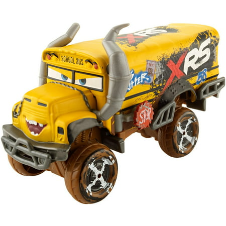 Disney Pixar Cars Xrs Mud Racing Miss Fritter Oversized Vehicle